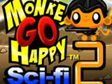 "Žaidimas""Monkey Go Happy Sci-fi 2"""