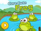 "Žaidimas""Care Cute Frog"""