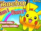 "Game ""Pikachu Run Run"""