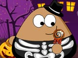 "Game""Pou Halloween Slacking"""