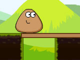 "Žaidimas""Pou Stick Adventure"""