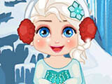 "Game ""Elsa New Year Slacking"""
