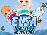"Game""Elsa Maze Adventure"""