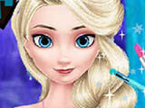 "Game""Elsa Stylish Makeover"""