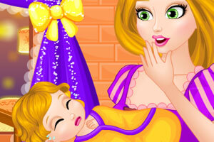 "Игра""Rapunzel Real Care Newborn Baby"""