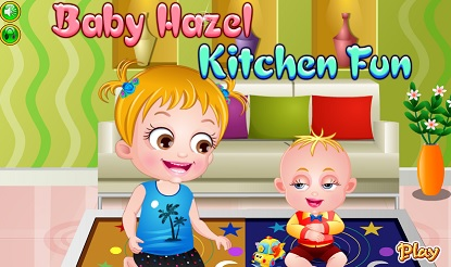 "Game""Baby Hazel Kitchen Fun"""