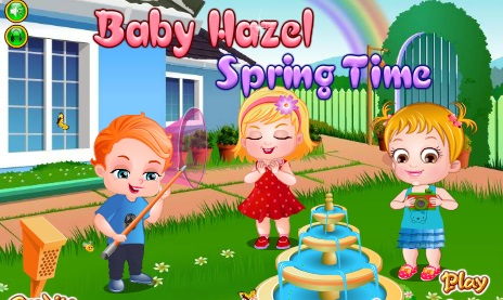 "Game""Baby Hazel Spring Time"""