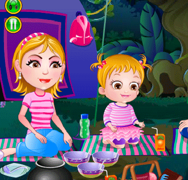 "Game""Baby Hazel African Safari"""