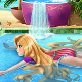 "Game""Rapunzel Swimming Pool"""