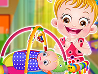 "Игра""Baby Hazel Sibling Surprise"""