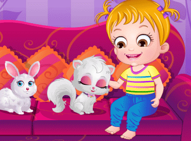 "Game""Baby Hazel Birthday Surprise"""