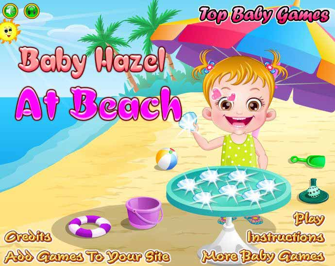 "Game""Baby Hazel At Beach"""