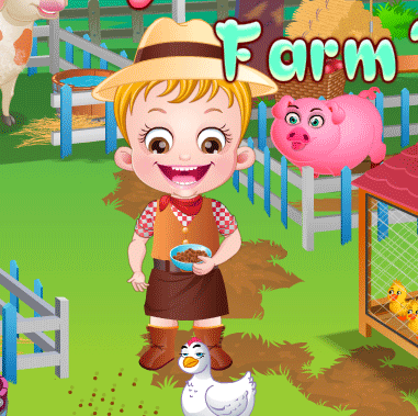 "Game""Baby Hazel Farm Tour"""