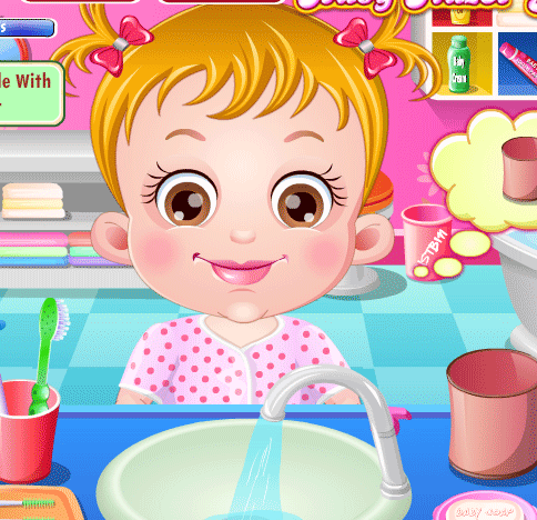 "Игра""Baby Hazel Brushing Time"""