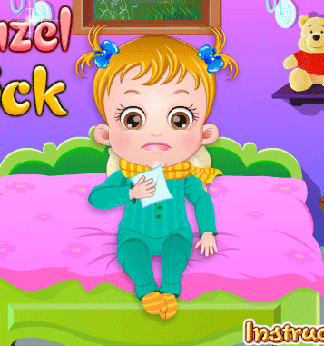 "Game""Baby Hazel Goes Sick"""