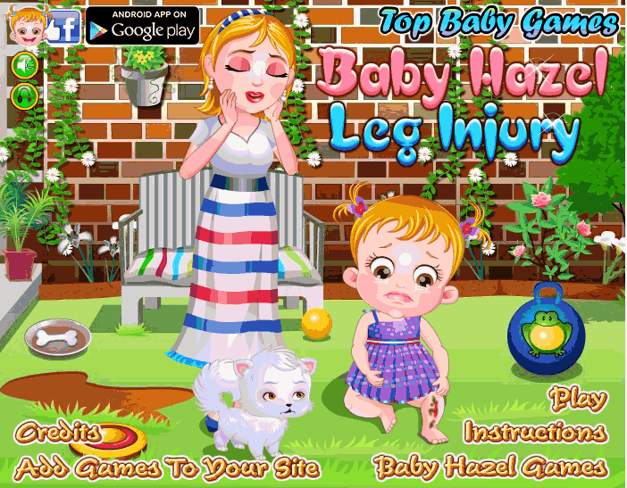 "Game""Baby Hazel Leg Injury"""