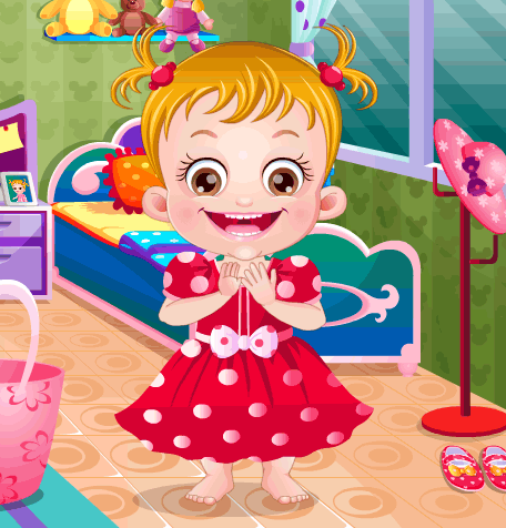 "Game ""Baby Hazel in Disneyland"""