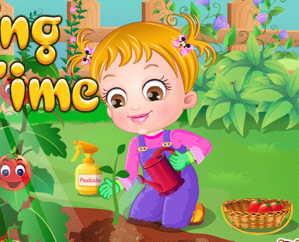 "Game""Baby Hazel Gardening Time"""