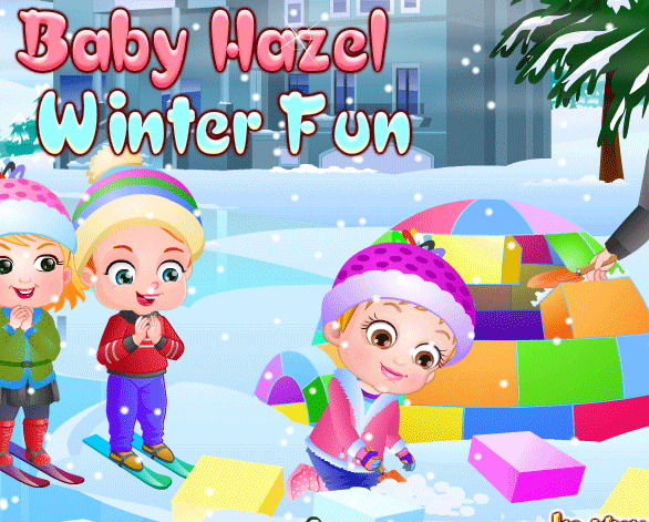 "Game""Baby Hazel Winter Fun"""
