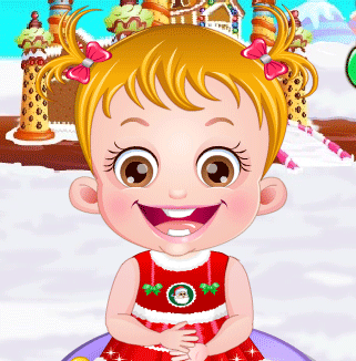 "Game""Baby Hazel Gingerbread House"""