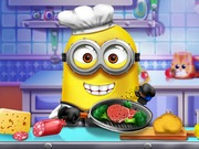 "Spēle""Minions Real Cooking"""
