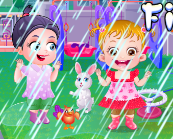 "Game""Baby Hazel First Rain"""