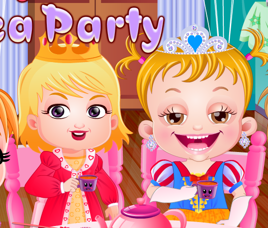 "Game""Baby Hazel Tea Party"""