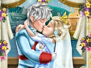 "Game""Elsa Wedding Kiss"""