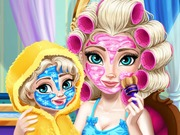 "Game""Elsa Mommy Real Makeover"""