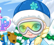 "Game""Baby Elsa Skiing Trip"""
