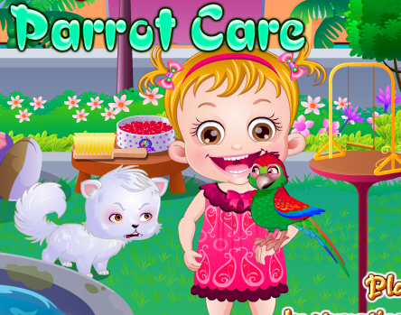 "Game ""Baby Hazel Parrot Care"""