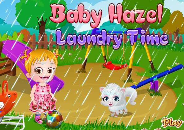 "Game ""Baby Hazel Laundry Time"""