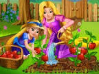 "Game""Rapunzel Mommy Gardening"""