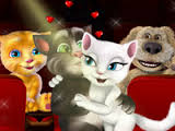 "Game""Tom and Angela Cinema Kissing"""