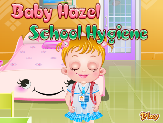"Game""Baby Hazel School Hygiene"""