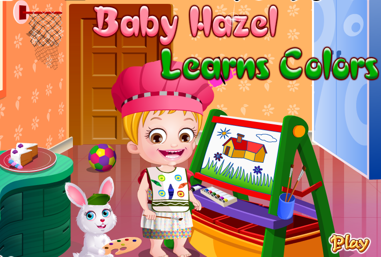 "Game""Baby Hazel Learns Colors"""