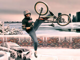 "Game""Winter BMX Jam"""
