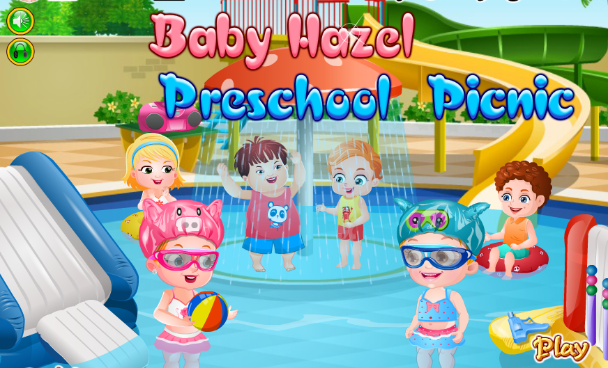 "Game""Baby Hazel Preschool Picnic"""