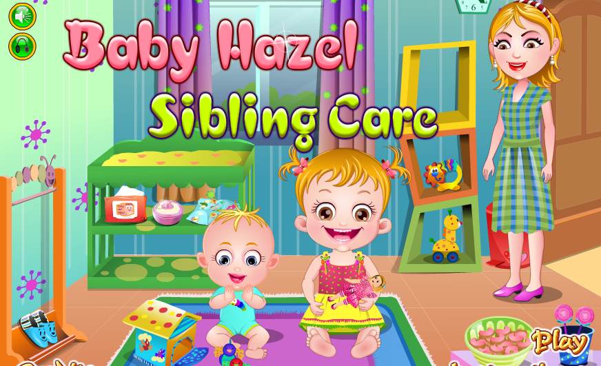 "Game""Baby Hazel Sibling Care"""
