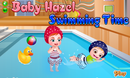 "Game""Baby Hazel Swimming Time"""