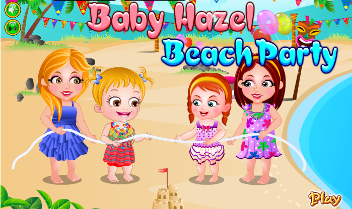 "Game""Baby Hazel Beach Party"""