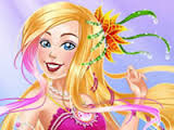 "Игра""Barbie Pearl Princess Makeover"""