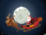 "Game ""Santa's Sleigh Parking"""