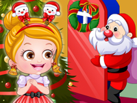 "Game""Baby Hazel Christmas Dressup"""