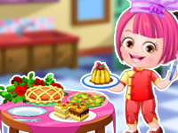 "Game""Baby Hazel Chef Dressup"""