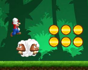 "Game""Mario Jungle Trouble"""
