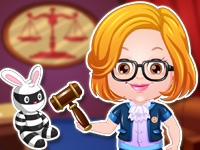 "Game""Baby Hazel Lawyer Dressup"""