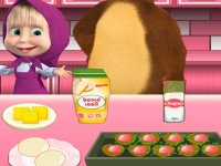 "Game""Masha Cooking Chocolate Cookies"""