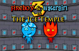 "Spēle""Fire Boy and Water Girl 3"""