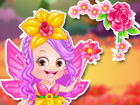 "Game""Baby Hazel Flower Princess Dressup"""
